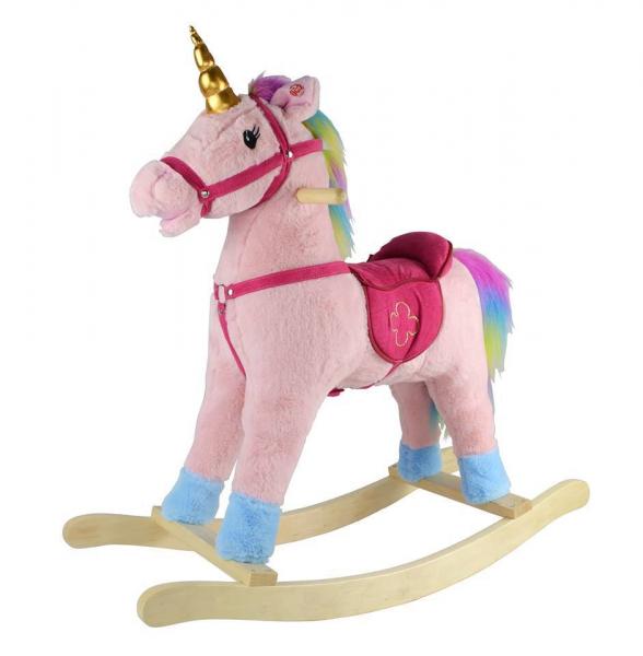 Calut balansoar de interior Unicorn Curcubeu 0