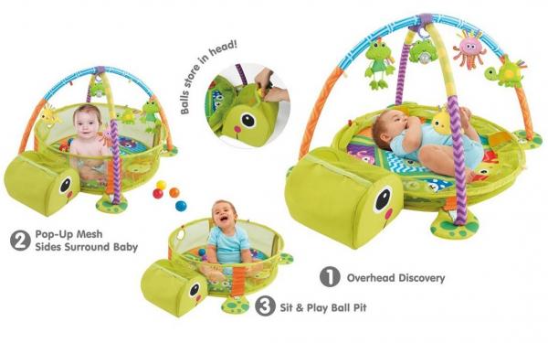 Centru de activitati copii 3 in 1 Testoasa Fericita 5