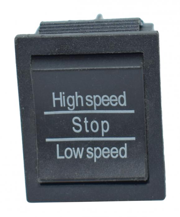 Comutator 3 pozitii viteza mare-mica 0