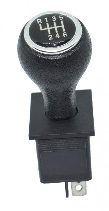 Maneta mica 3 poztii neagra universala KCD4 model cu trepte [0]