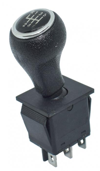 Maneta mica 3 poztii neagra universala KCD4 model cu trepte [1]