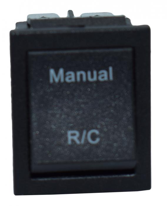 Comutator 2 pozitii manual-telecomanda 2