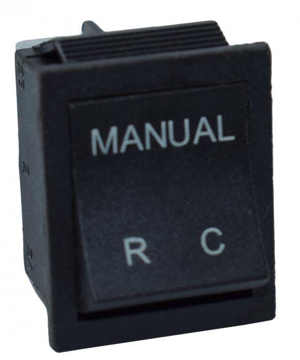 Comutator 2 pozitii manual-telecomanda 5