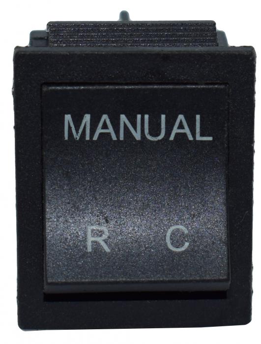 Comutator 2 pozitii manual-telecomanda 6
