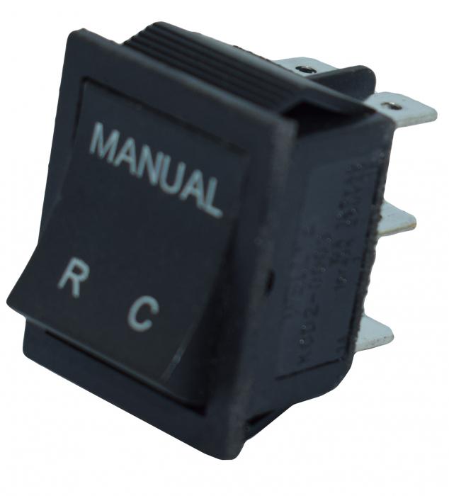 Comutator 2 pozitii manual-telecomanda 7