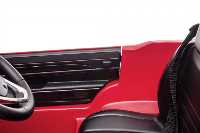 Masinuta electrica Premier Jeep Grand Cherokee, 12V, roti cauciuc EVA, scaun piele ecologica, rosu [24]