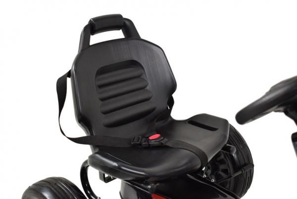 Kart Ford cu pedale pentru copii, roti cauciuc Eva 8