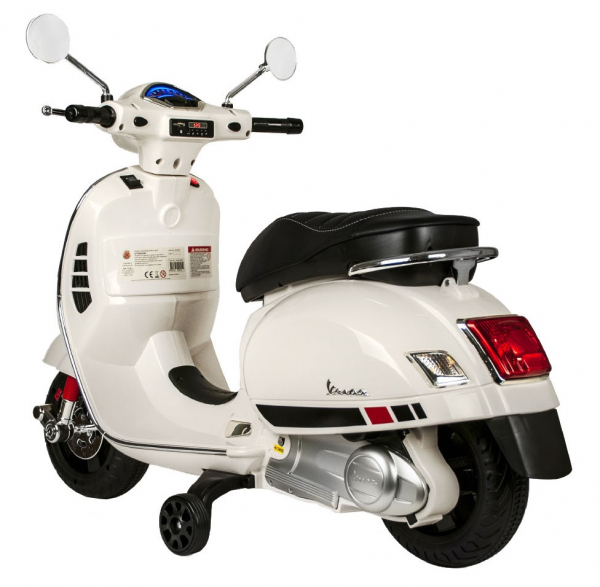 Scooter electric cu 2 roti Premier Vespa GTS Super, 12V, MP3, roti ajutatoare 2