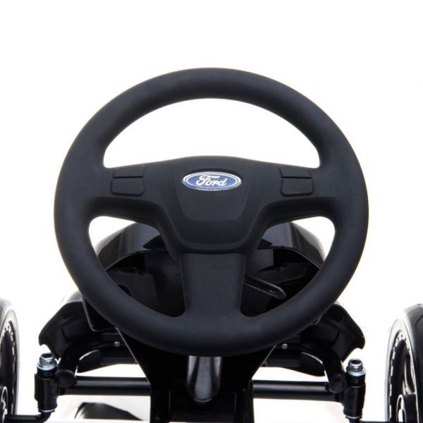 Kart Ford cu pedale pentru copii, roti cauciuc Eva 11