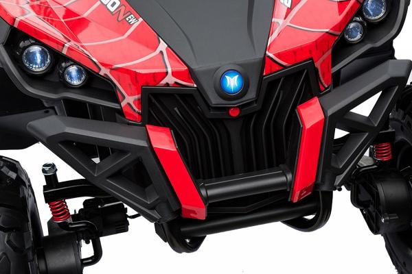 Buggy electric pentru 2 copii Premier 4x4 Superstar, MP4, cu 2 baterii, roti cauciuc EVA, scaun piele ecologica 10