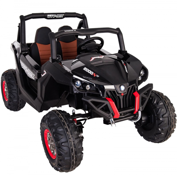 Buggy electric pentru 2 copii Premier 4x4 Superstar, cu 2 baterii, roti cauciuc EVA, scaun piele ecologica 7