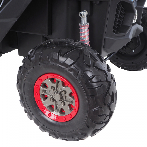 Buggy electric pentru 2 copii Premier 4x4 Superstar, MP4, cu 2 baterii, roti cauciuc EVA, scaun piele ecologica 13