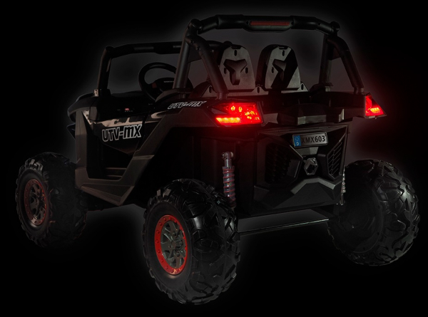 Buggy electric pentru 2 copii Premier 4x4 Superstar, MP4, cu 2 baterii, roti cauciuc EVA, scaun piele ecologica 3