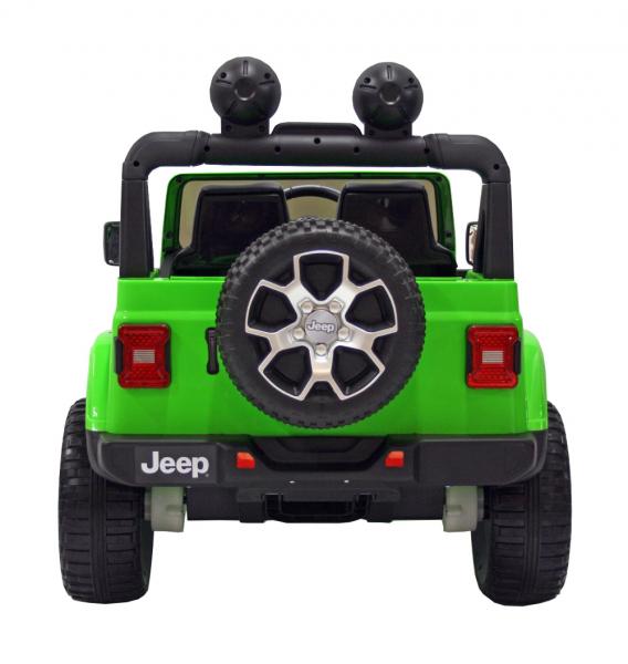 Masinuta electrica 4x4 Premier Jeep Wrangler Rubicon, 12V, roti cauciuc EVA, scaun piele ecologica 3