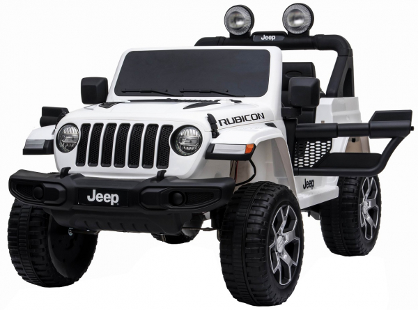 Masinuta electrica 4x4 Premier Jeep Wrangler Rubicon, 12V, roti cauciuc EVA, scaun piele ecologica 2