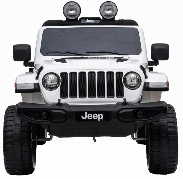 Masinuta electrica 4x4 Premier Jeep Wrangler Rubicon, 12V, roti cauciuc EVA, scaun piele ecologica 7