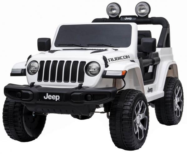 Masinuta electrica 4x4 Premier Jeep Wrangler Rubicon, 12V, roti cauciuc EVA, scaun piele ecologica 9