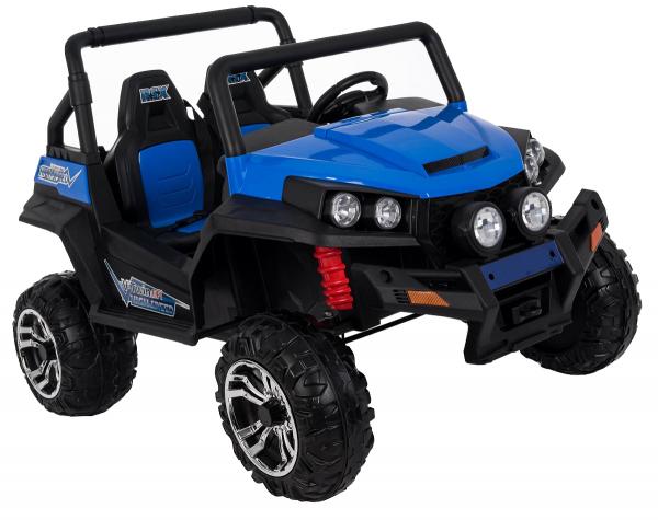 Masinuta electrica 4x4 Premier V-Twin, 12V, 2 locuri, roti cauciuc EVA, scaun piele ecologica 12