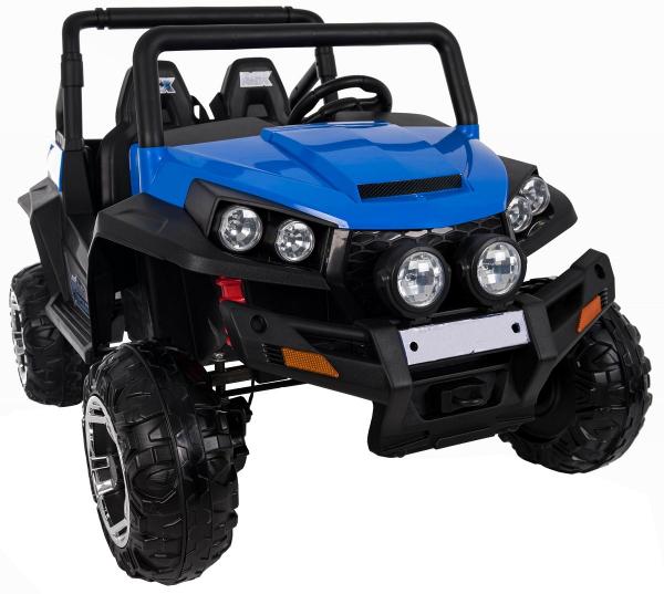 Masinuta electrica 4x4 Premier V-Twin, 12V, 2 locuri, roti cauciuc EVA, scaun piele ecologica 10