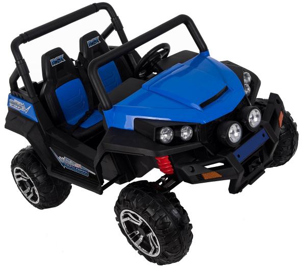 Masinuta electrica 4x4 Premier V-Twin, 12V, 2 locuri, roti cauciuc EVA, scaun piele ecologica 11