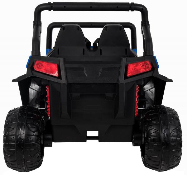 Masinuta electrica 4x4 Premier V-Twin, 12V, 2 locuri, roti cauciuc EVA, scaun piele ecologica 5