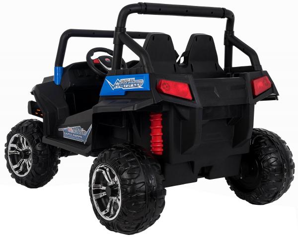 Masinuta electrica 4x4 Premier V-Twin, 12V, 2 locuri, roti cauciuc EVA, scaun piele ecologica 4
