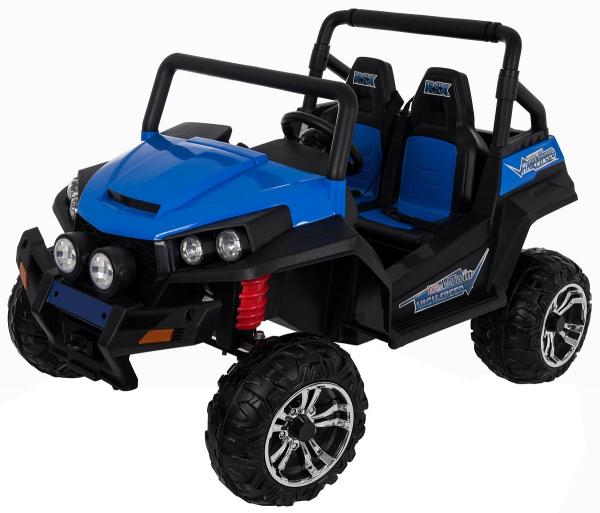 Masinuta electrica 4x4 Premier V-Twin, 12V, 2 locuri, roti cauciuc EVA, scaun piele ecologica 6