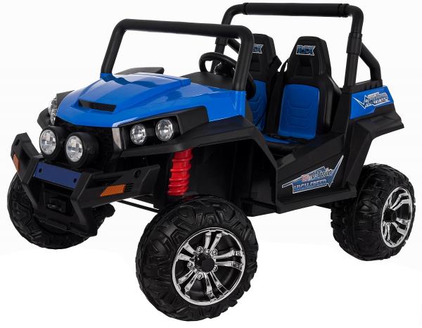 Masinuta electrica 4x4 Premier V-Twin, 12V, 2 locuri, roti cauciuc EVA, scaun piele ecologica 8