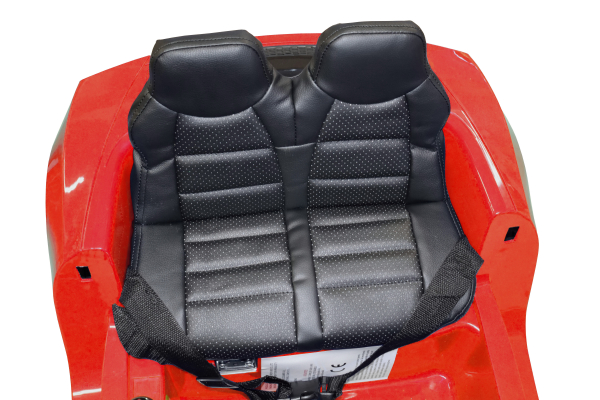 Masinuta electrica Premier Audi R8 Spyder, 12V, roti cauciuc EVA, scaun piele ecologica, rosie 11