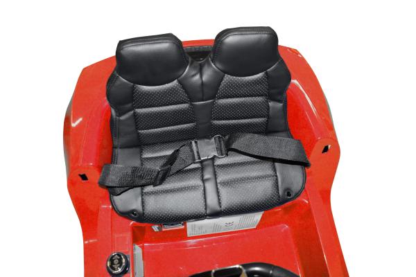 Masinuta electrica Premier Audi R8 Spyder, 12V, roti cauciuc EVA, scaun piele ecologica, rosie 12