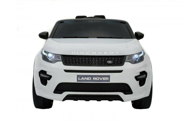 Masinuta electrica copii Land Rover Discovery cu soft start, 12V ,portiere, scaunel tapitat, roti cauciuc 2