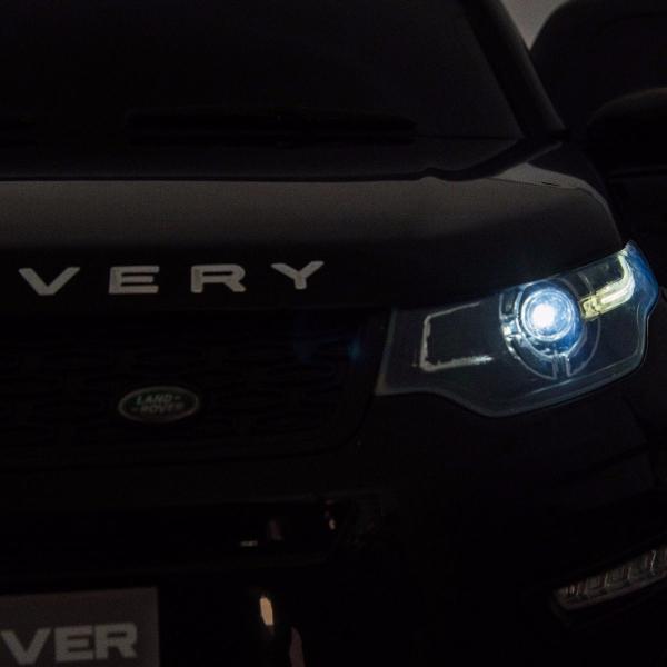 Masinuta electrica copii Land Rover Discovery cu soft start, 12V ,portiere, scaunel tapitat, roti cauciuc 7