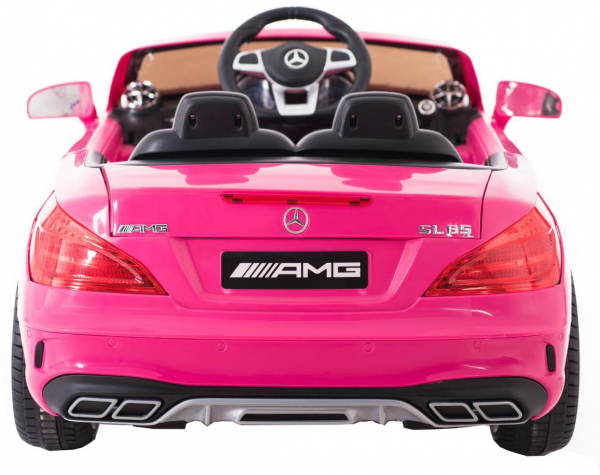 Masinuta electrica Premier Mercedes SL65 AMG, 12V, roti cauciuc EVA, scaun piele ecologica 1
