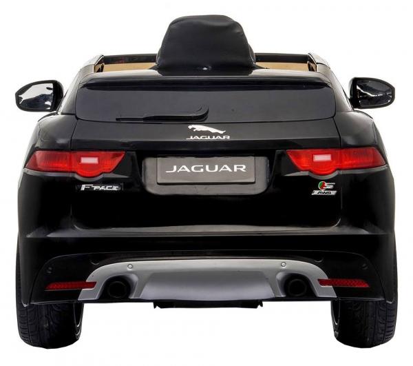 Masinuta electrica Premier Jaguar F-Pace, 12V, roti cauciuc EVA, scaun piele ecologica, neagra [2]