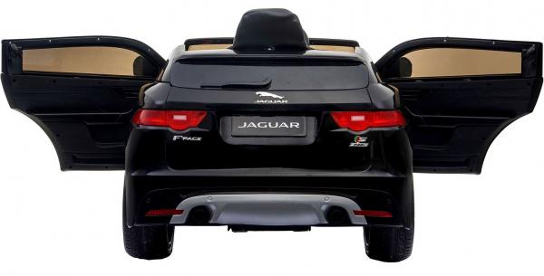 Masinuta electrica Premier Jaguar F-Pace, 12V, roti cauciuc EVA, scaun piele ecologica, neagra [8]