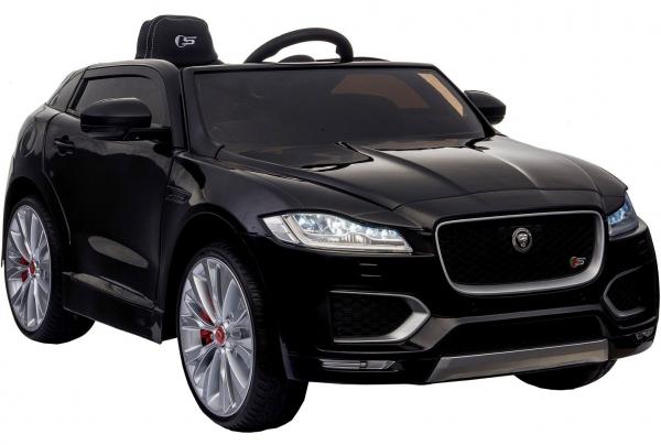 Masinuta electrica Premier Jaguar F-Pace, 12V, roti cauciuc EVA, scaun piele ecologica, neagra [1]