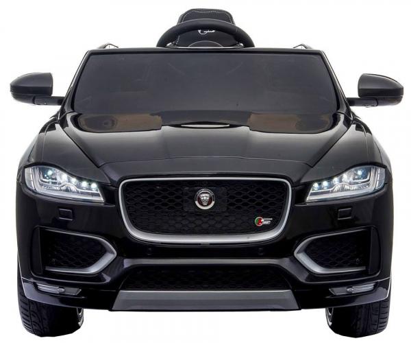 Masinuta electrica Premier Jaguar F-Pace, 12V, roti cauciuc EVA, scaun piele ecologica, neagra [7]