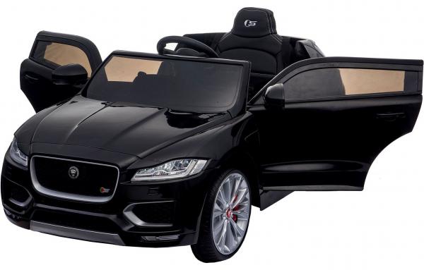 Masinuta electrica Premier Jaguar F-Pace, 12V, roti cauciuc EVA, scaun piele ecologica, neagra [3]