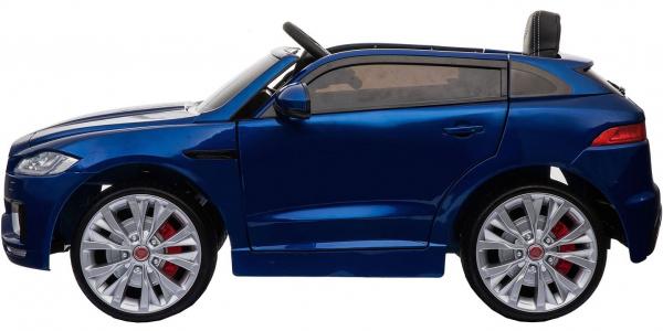 Masinuta electrica Premier Jaguar F-Pace, 12V, roti cauciuc EVA, scaun piele ecologica, albastra 10