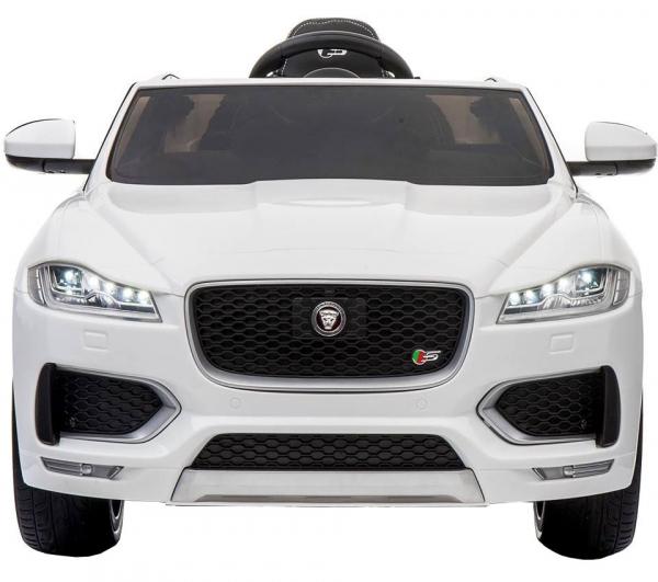 Masinuta electrica Premier Jaguar F-Pace, 12V, roti cauciuc EVA, scaun piele ecologica [2]