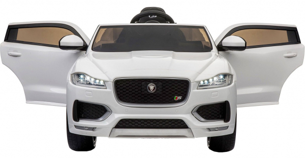 Masinuta electrica Premier Jaguar F-Pace, 12V, roti cauciuc EVA, scaun piele ecologica [6]