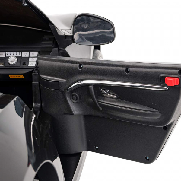 Masinuta electrica Maserati Grancabrio cu power display, sistem troller, roti cauciuc, scaunel din piele 5