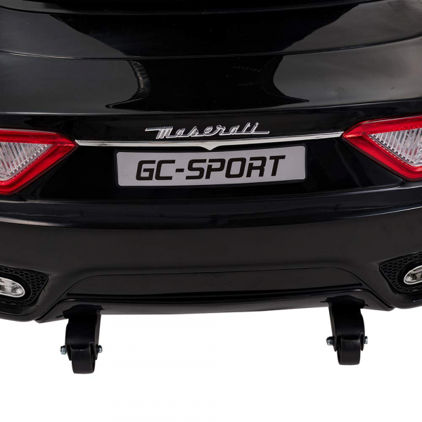 Masinuta electrica Maserati Grancabrio cu power display, sistem troller, roti cauciuc, scaunel din piele 2
