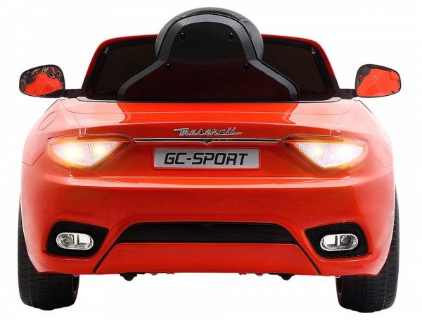 Masinuta electrica Maserati Grancabrio cu power display, sistem troller, roti cauciuc, scaunel din piele 8