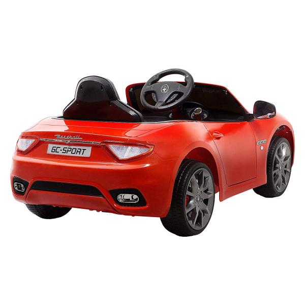 Masinuta electrica Maserati Grancabrio cu power display, sistem troller, roti cauciuc, scaunel din piele 1