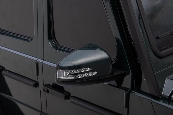 Masinuta electrica Mercedes G63 Solo, 2 baterii 12V, 6 roti cauciuc EVA, 4x4, 1 loc, 4 motoare, negru 23