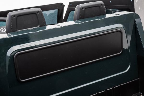 Masinuta electrica Mercedes G63 Solo, 2 baterii 12V, 6 roti cauciuc EVA, 4x4, 1 loc, 4 motoare, negru 27