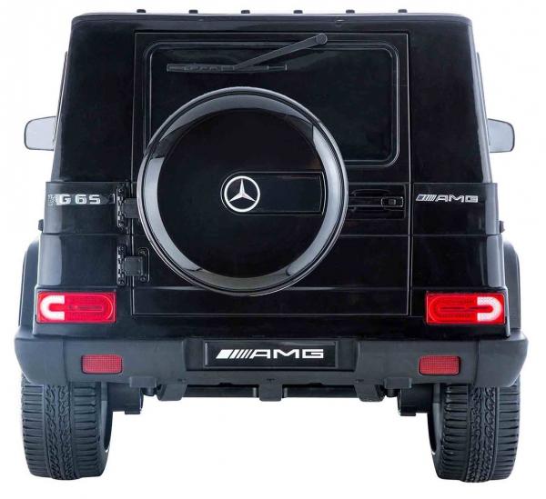 Masinuta electrica Premier Mercedes AMG G65, 12V, roti cauciuc EVA, scaun piele ecologica 3