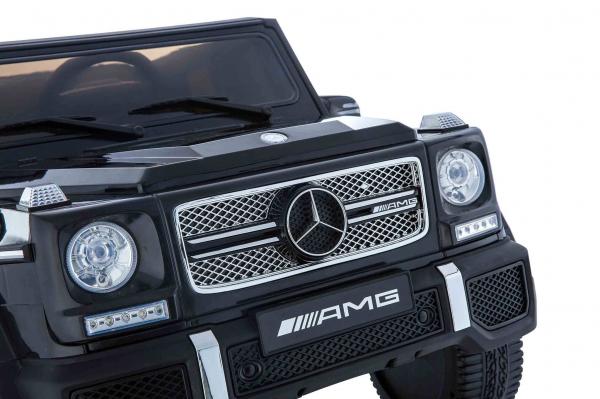 Masinuta electrica Premier Mercedes AMG G65, 12V, roti cauciuc EVA, scaun piele ecologica 4