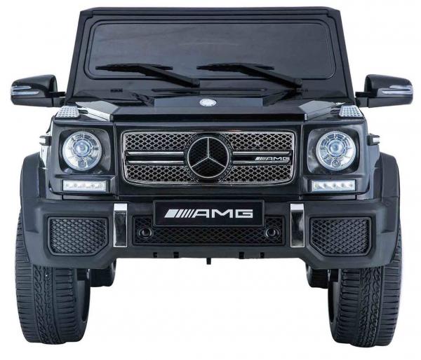 Masinuta electrica Premier Mercedes AMG G65, 12V, roti cauciuc EVA, scaun piele ecologica 7